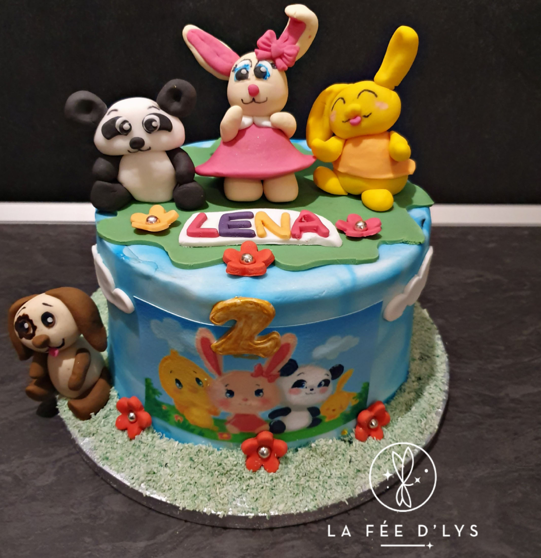 Cake Design - Lena - 2ans